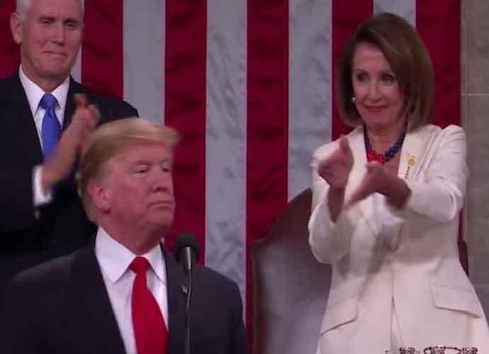 Trump Attacks 'Angry' Female Democratic Leaders Kamala Harris, Nancy Pelosi & AOC – At The Same Time!