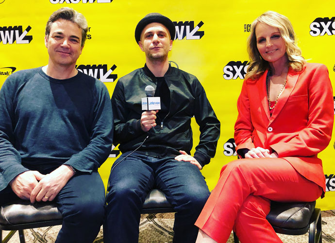 SXSW 2019 VIDEO EXCLUSIVE: Helen Hunt, Jon Tenney & Adam Randall On Movie 'I See You'