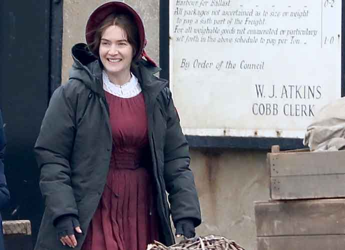 Kate Winslet Spotted Wearing Victorian Costume As She Shoots Period Drama 'Ammonite'