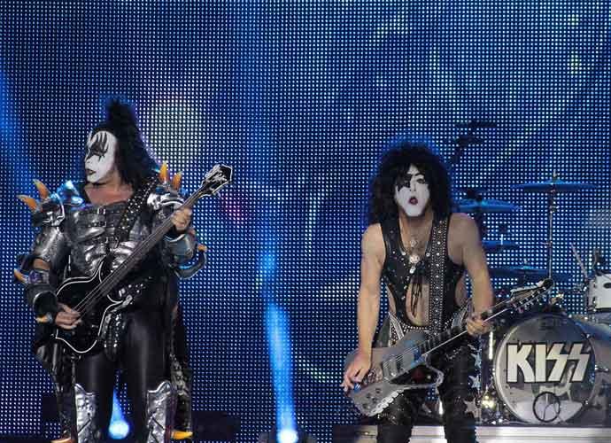 KISS Rocks Lower Manhattan In Mini-Concert At Tribeca Film Festival