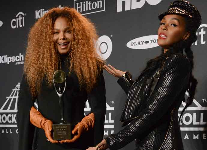 Janelle Monáe Inducts Janet Jackson Into Rock And Roll Hall Of Fame During Ceremony