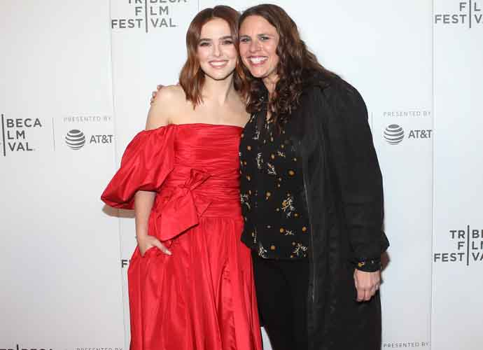 Zoey Deutch & Director Tanya Wexler Attend Premiere Of 'Buffaloed' At 2019 Tribeca Film Festival