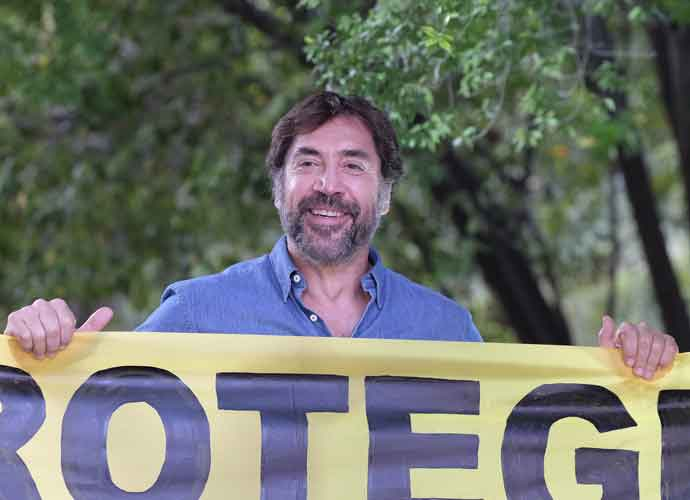 Javier Bardem Demands Protection Of Oceans At Greenpeace Protest In Madrid