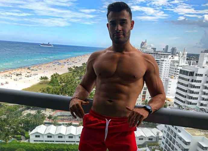 Sam Asghari Flaunts His Abs For Girlfriend Britney Spears In Miami