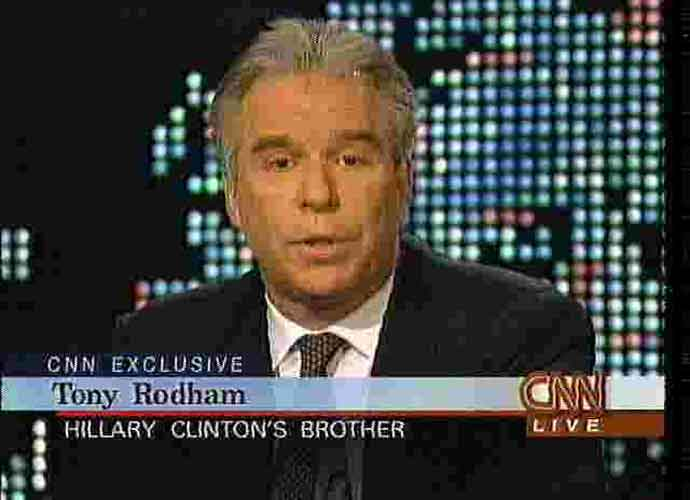 Hillary Clinton's Youngest Brother, Tony Rodham, Dies At 65