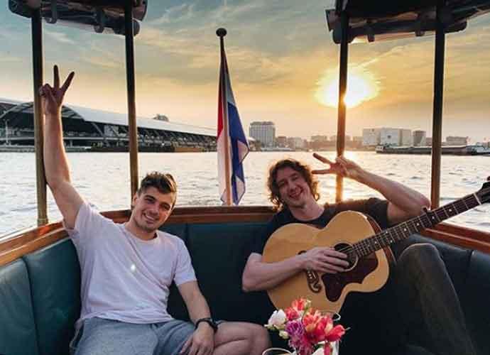 Martin Garrix & Dean Lewis Jam In Amsterdam