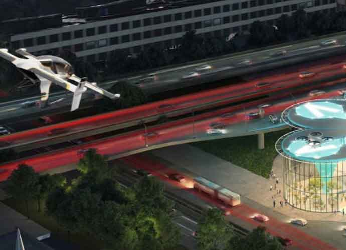 Paris To Have Flying Taxis By 2024