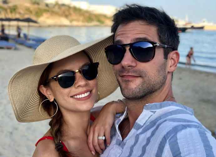 'Pretty Little Liars' Star Brant Daugherty & Kim Hidalgo Honeymoon In Greece
