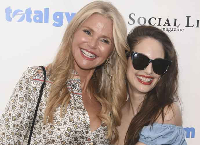 Christie Brinkley & Daughter Alexis Ray Joel Host Polo Party In The Hamptons