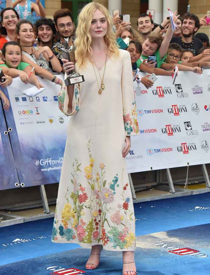 Elle Fanning Wins Award At 2019 Giffoni Film Festival