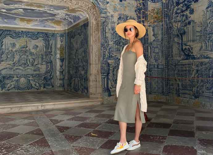 Jamie Chung Attends Wedding In Lisbon