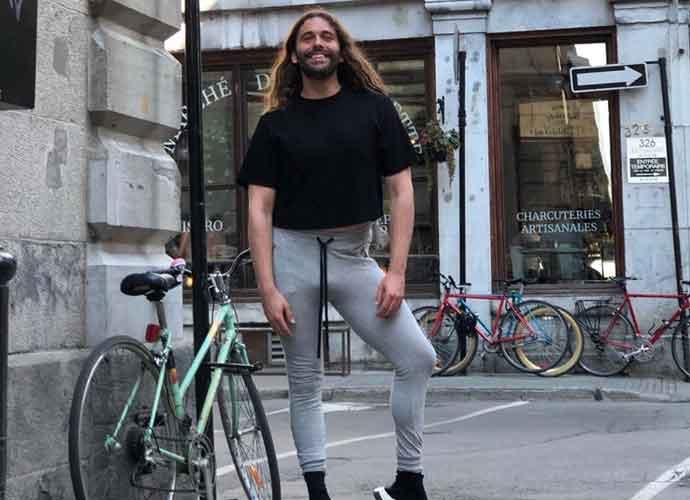 'Queer Eye's Jonathan Van Ness Pops A Leg On Montreal Street Corner