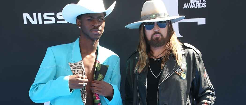 Lil Nas X & Billy Ray Cyrus At The 2019 BET Awards