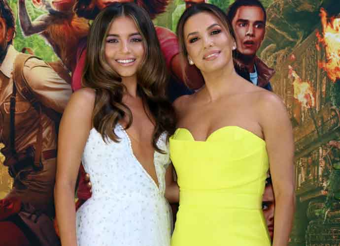 Isabela Moner & Eva Longoria Look Smashing At 'Dora And The Lost City Of Gold' Premiere