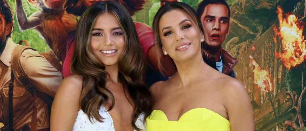 Isabela Moner & Eva Longoria Look Smashing At 'Dora And The Lost City Of Gold' Premiere