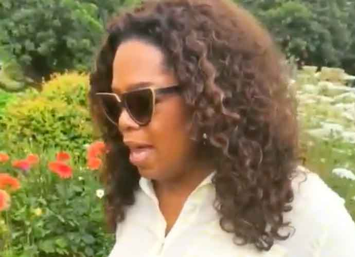Oprah Winfrey Gets Nostalgic In Her Hawaiian Flower Garden