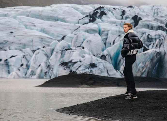 'Riverdale' Star Cole Sprouse Shoots Photos Of Estella Boersma On Iceland's Glaciers