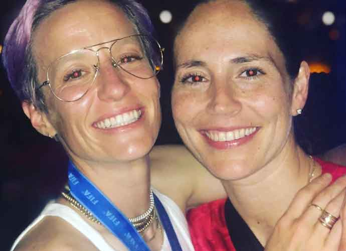 Megan Rapinoe Shares Kiss With Girlfriend Sue Bird To Celebrate Her Win At The World Cup