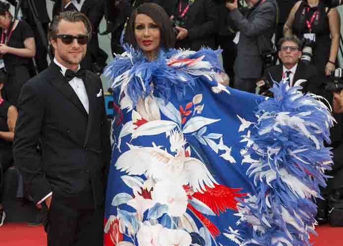 Iman Wears Valentino Haute Couture To 2019 Venice Film Festival [Photos]