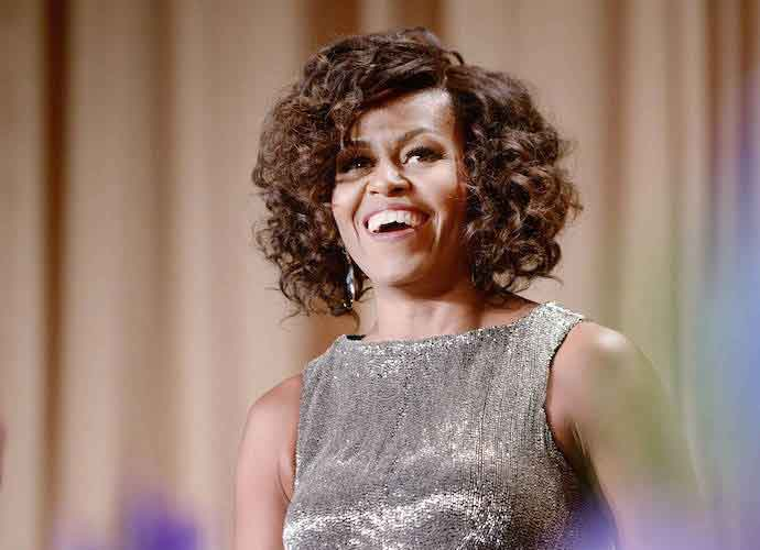 Michelle Obama Wins Grammy For Audio Book Of Memoir 'Becoming'