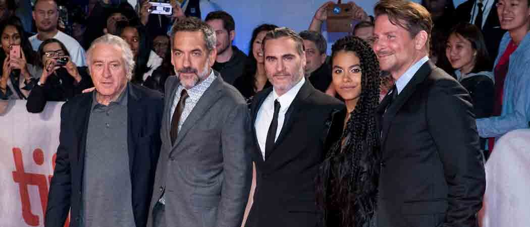 Robert De Niro, Joaquin Phoenix & Bradley Cooper Attend Premiere Of 'Joker' At Toronto Film Festival