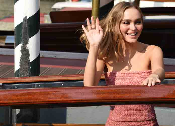 Lily-Rose Depp Attends Venice Film Festival For Premiere Of New Film 'The King'