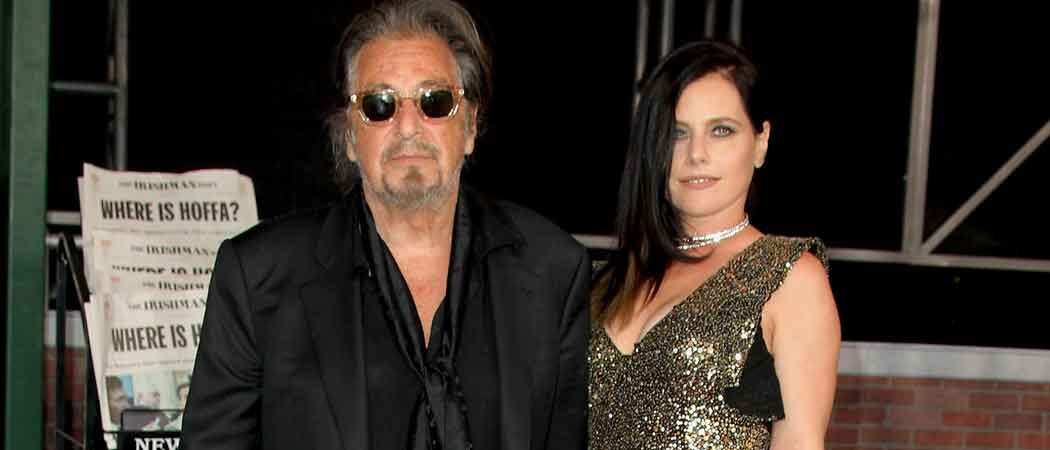 Al Pacino Walks Red Carpet Girlfriend Meital Dohan For 'The Irishman' Premiere In Hollywood