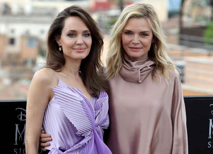 Angelina Jolie Michelle Pfeiffer Attend Maleficent