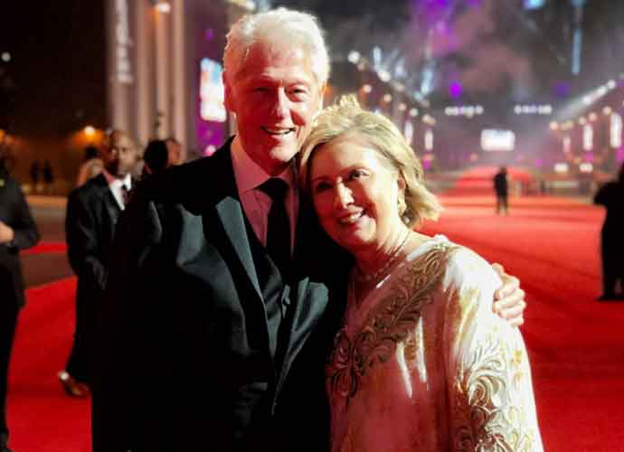 Bill & Hillary Clinton Celebrate 44th Wedding Anniversary