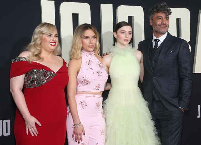 Rebel Wilson, Scarlett Johansson & Thomasin McKenzie Attend Premiere Of 'Jojo Rabbit'