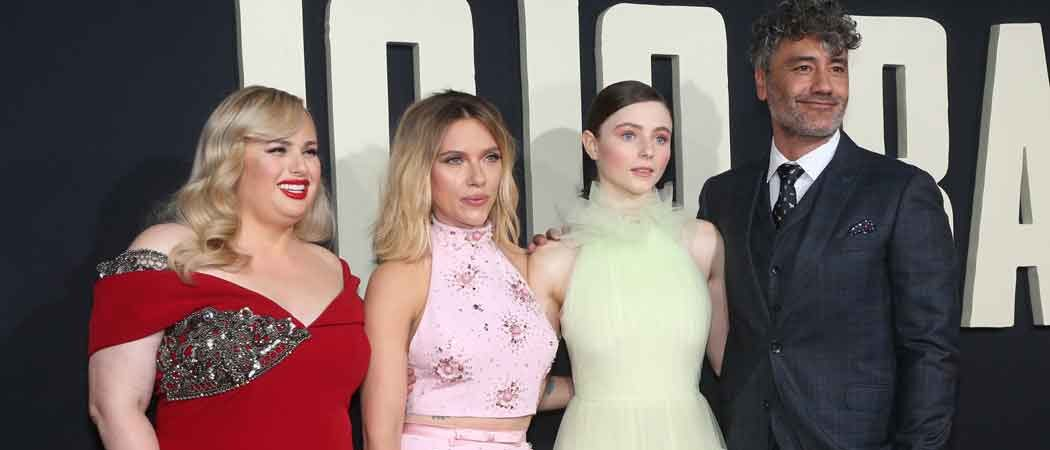 Rebel Wilson, Scarlett Johansson & Thomasin McKenzie Attend Premiere Of 'Jojo Rabbit'