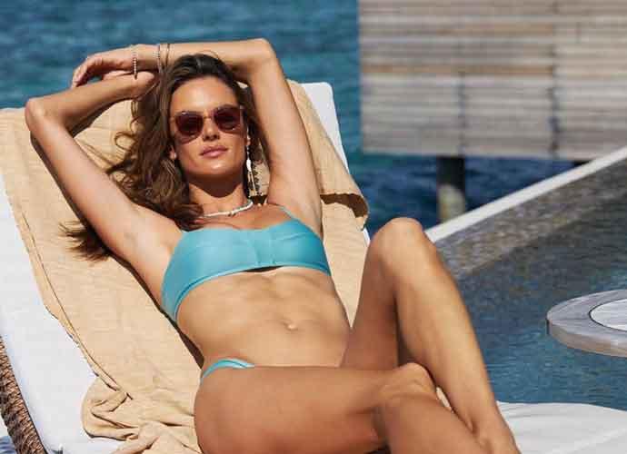 Victoria's Secret Model Alessandra Ambrosio Stuns In The Maldives