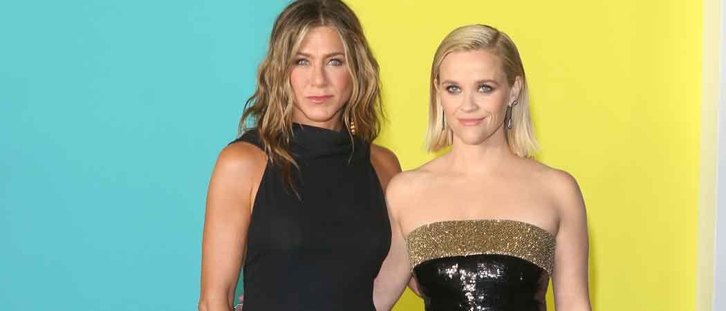 Jennifer Aniston & Reese Witherspoon Walk Red Carpet At Premiere of Apple's 'The Morning Show'
