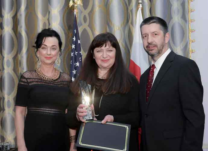 Basia Honored With Award At Kosciuszko Foundation Gala