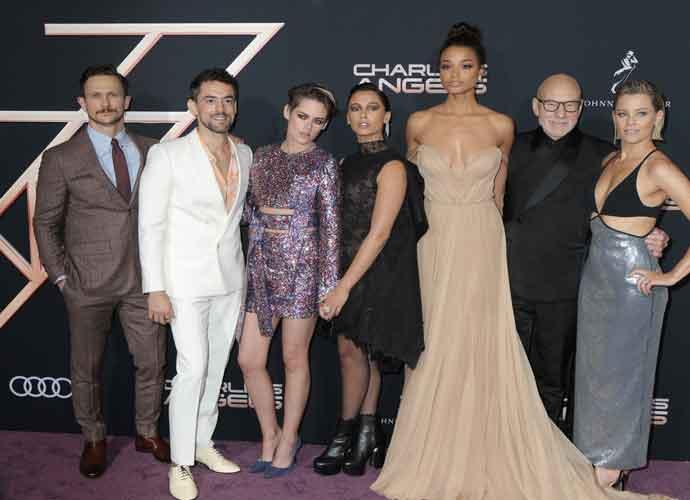 Kristen Stewart, Naomi Scott, Ella Balinska & Elizabeth Banks Join Forces For 'Charlie's Angels' Premiere