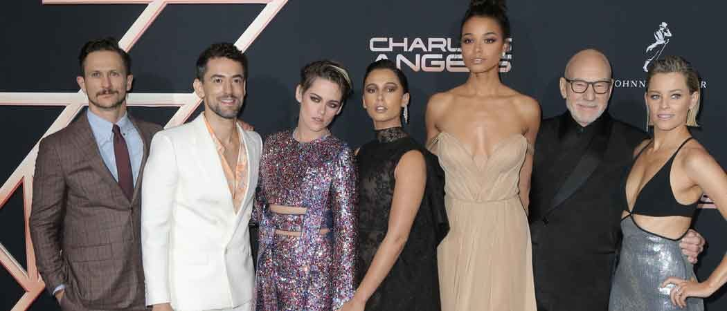 Kristen Stewart, Naomi Scott, Ella Balinska & Elizabeth Banks Join Forces For 'Charlie's Angels' Premiere