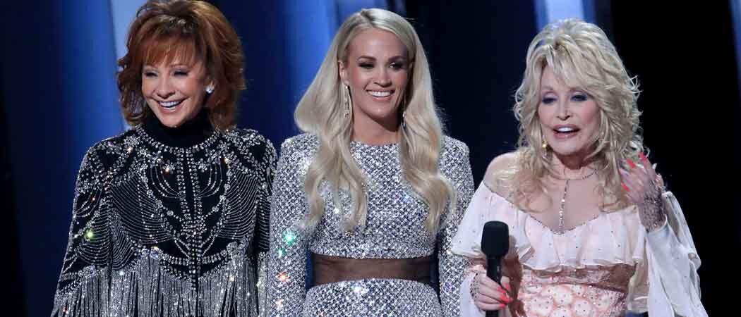 Dolly Parton, Reba McEntire & Carrie Underwood Host 2019 CMAs