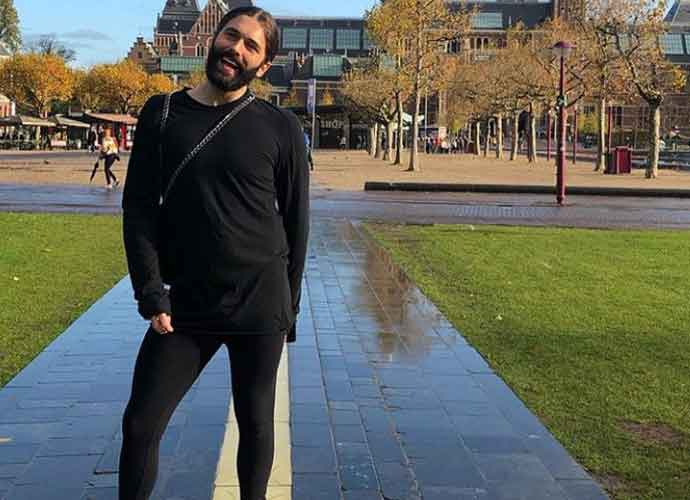 'Queer Eye' Star Jonathan Van Ness Relaxes In Amsterdam