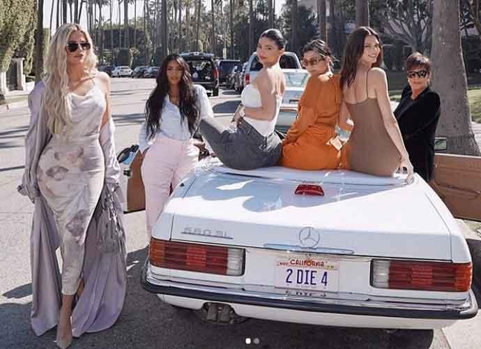 Kendall Jenner & Kim Kardashian Celebrate Mom Kris Jenner On Mother's Day