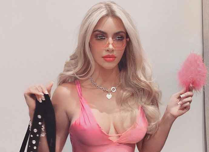 Kim Kardashian Gives Her Best 'Legally Blonde' Look For Halloween As Elle Woods