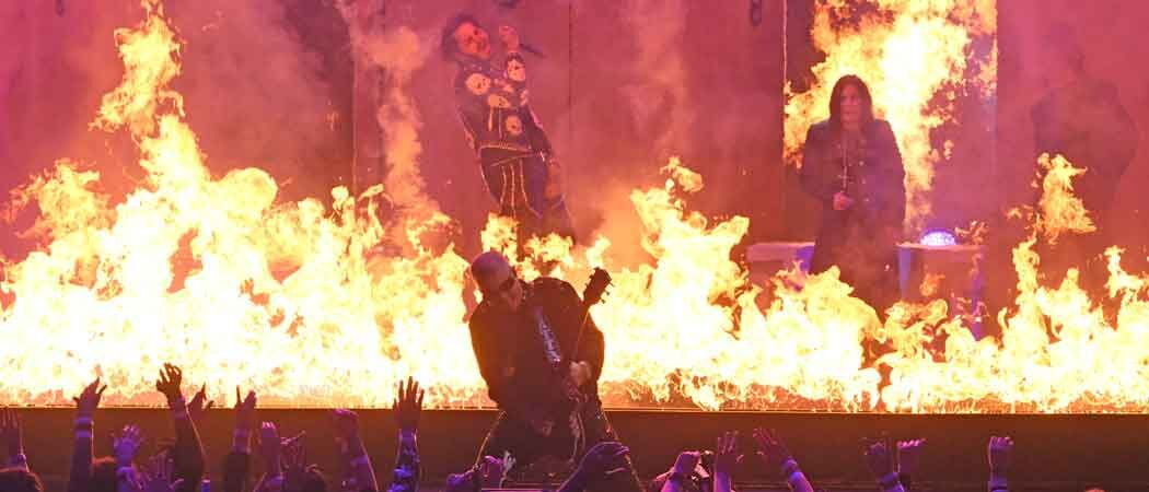 Post Malone Sets AMAs Stage On Fire – Literally – With Ozzy Osbourne & Travis Scott [Concert Ticket Info]