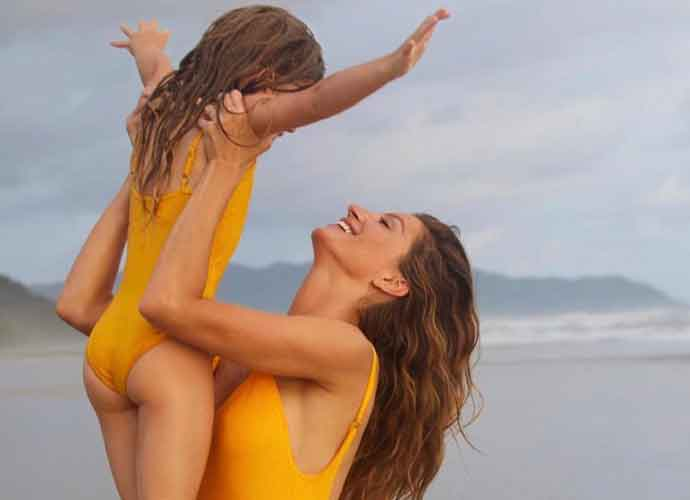 Swimsuit-Clad Gisele Bundchen Gushes Over Kids In New Photos
