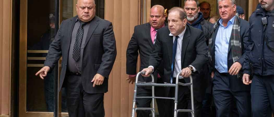 Is Harvey Weinstein Faking Use Of Walker & Hospital Photo For Sympathy?