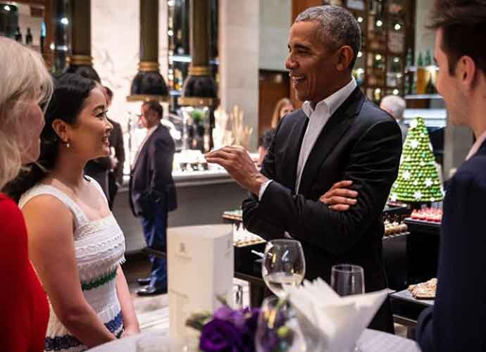 Lana Condor Works With Barack & Michelle Obama In Malaysia