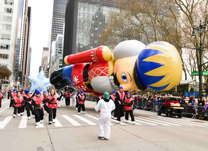 Nutcracker Balloon Knocks Marcher Down During 2019 Macy's Thanksgiving Day Parade