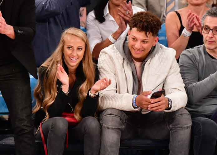 Patrick Mahomes' Girlfriend, Brittany Matthews, Slams Patriots Fans For Harassing Her During Loss To Chiefs