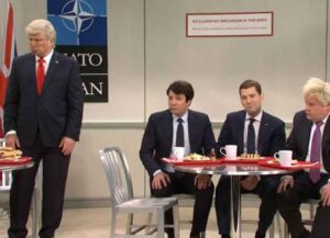 WATCH: 'SNL' Cast Pokes Fun At NATO Leaders Mocking Donald Trump [Video]