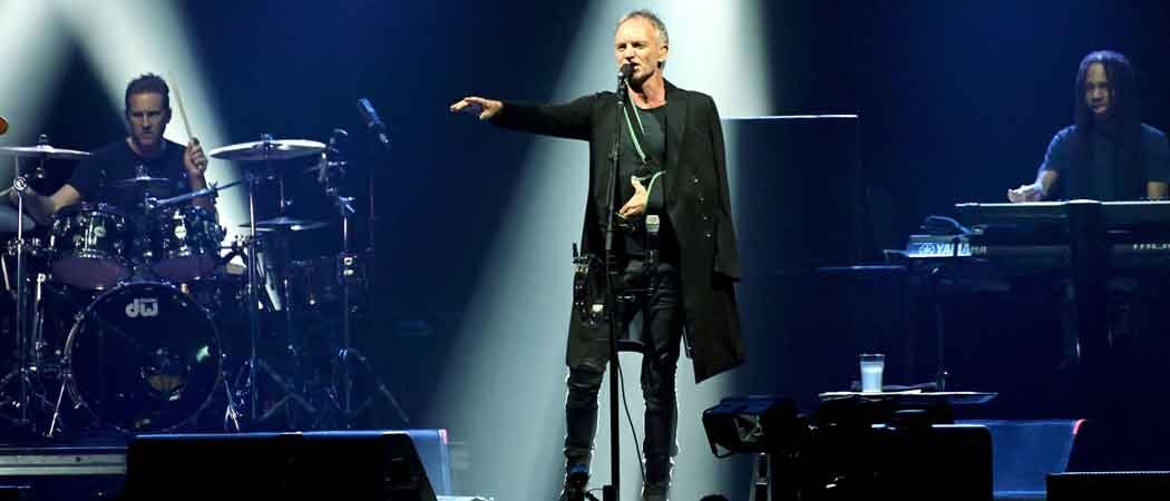 Sting Performs Live With His Arm In A Sling After Injury In Italy [Concert Ticket Info]