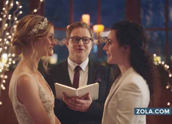 Hallmark Apologizes For Pulling Ad Featuring Lesbian Wedding