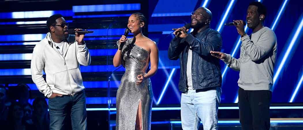 Alicia Keys & Boyz II Men Pay Tribute To Kobe Bryant In Grammys Opening Performance [Video]